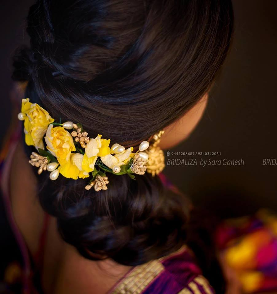 Classy bridal Hairstyle