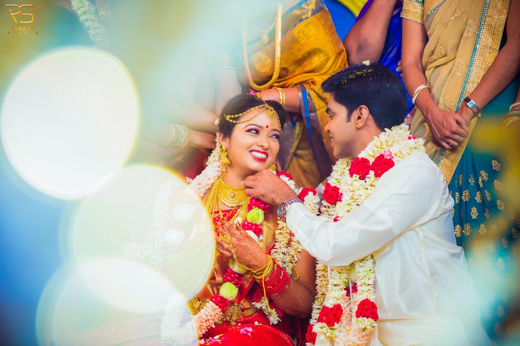 Beautiful feeling of the bride