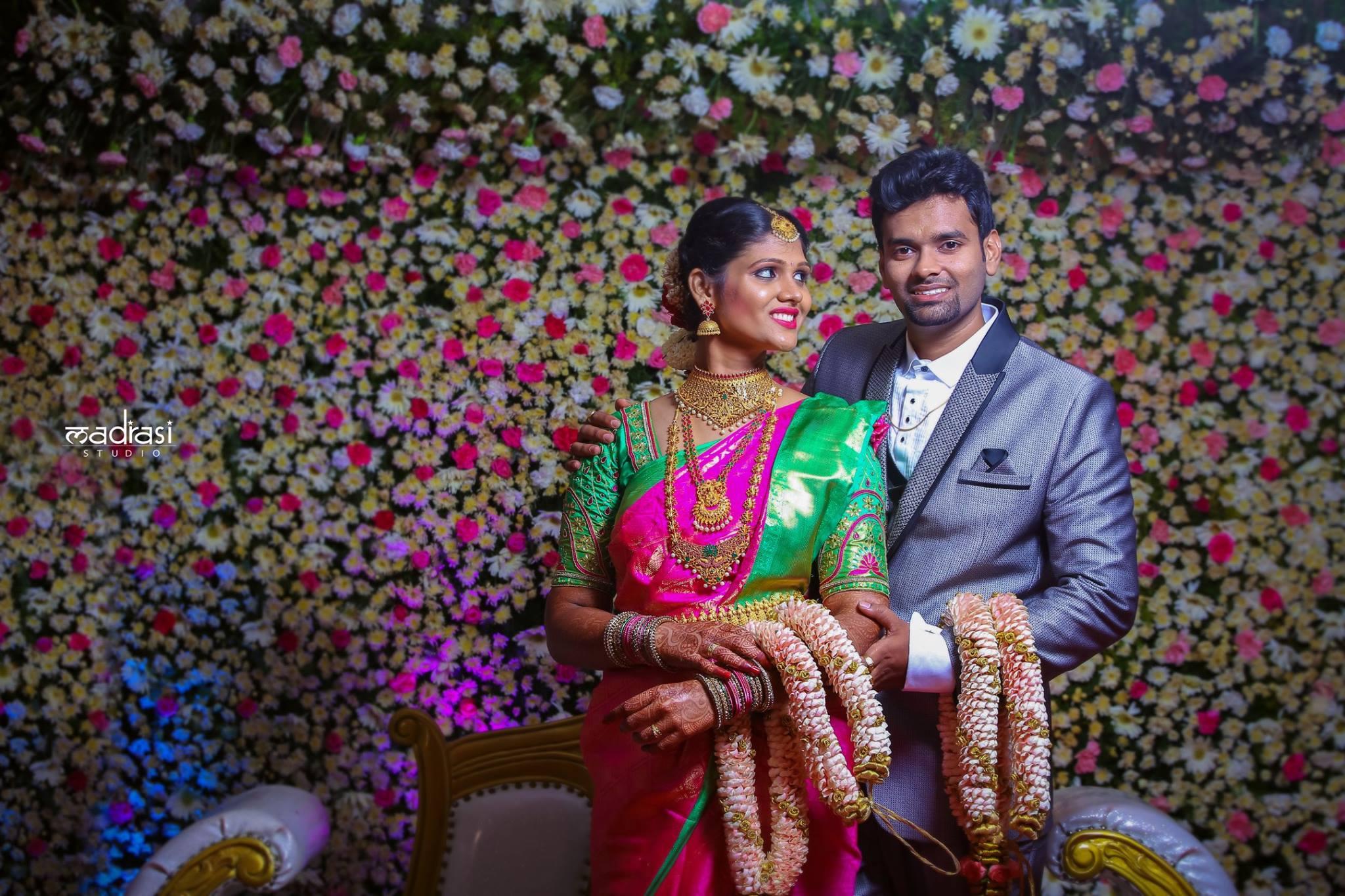 Best Brahmin Couple Portrait
