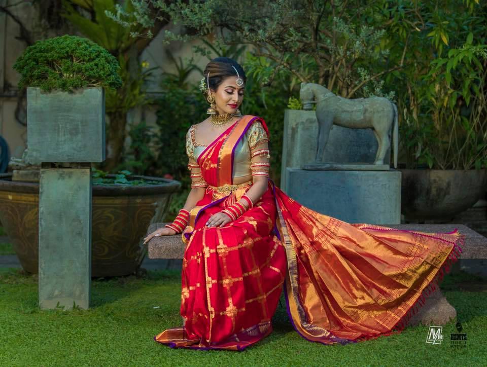 Gorgeous Red silk saree