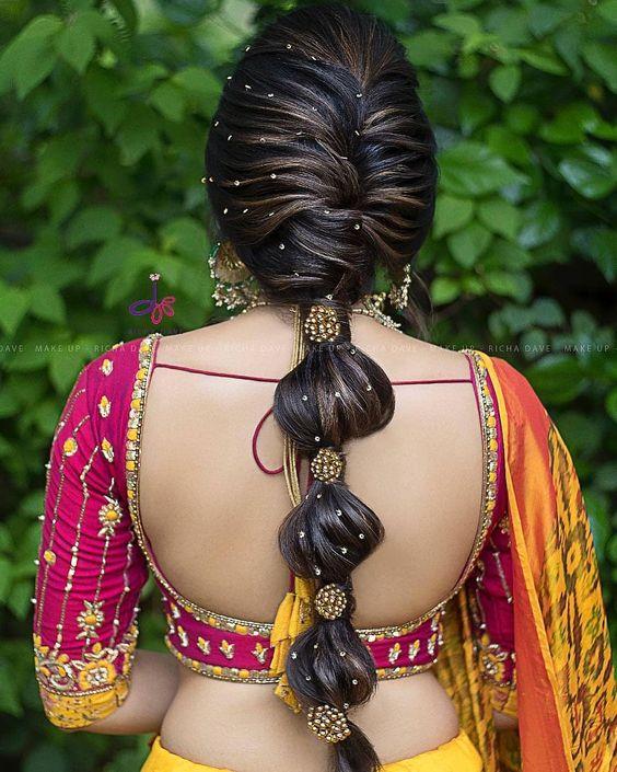Stylish trending hairstyle