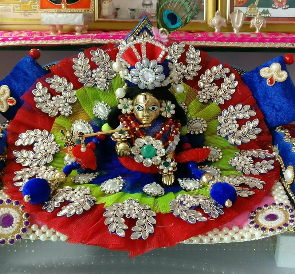 Krishna Plate Decoration