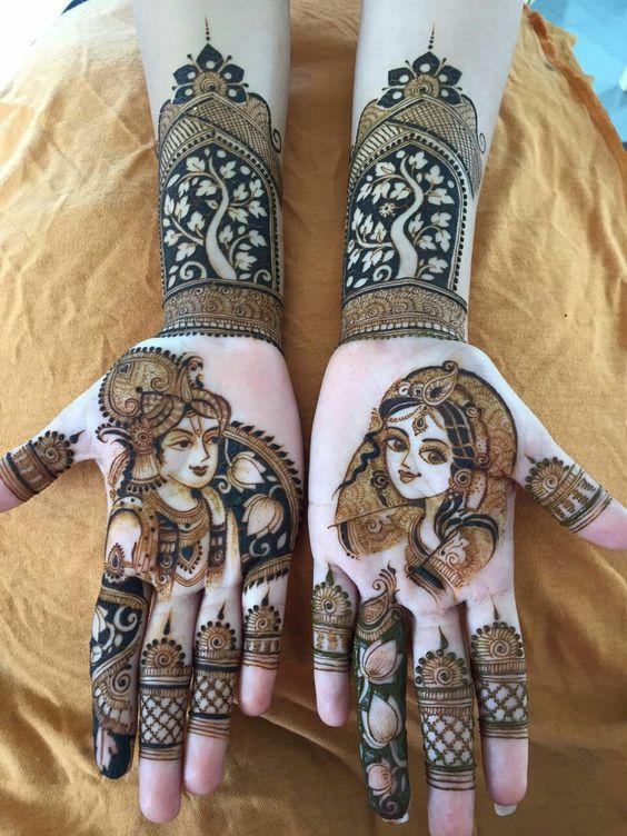 Radha Krishna mesmerising design