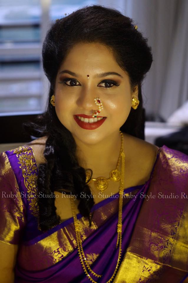 Cutess overloaded Bridal Makeup