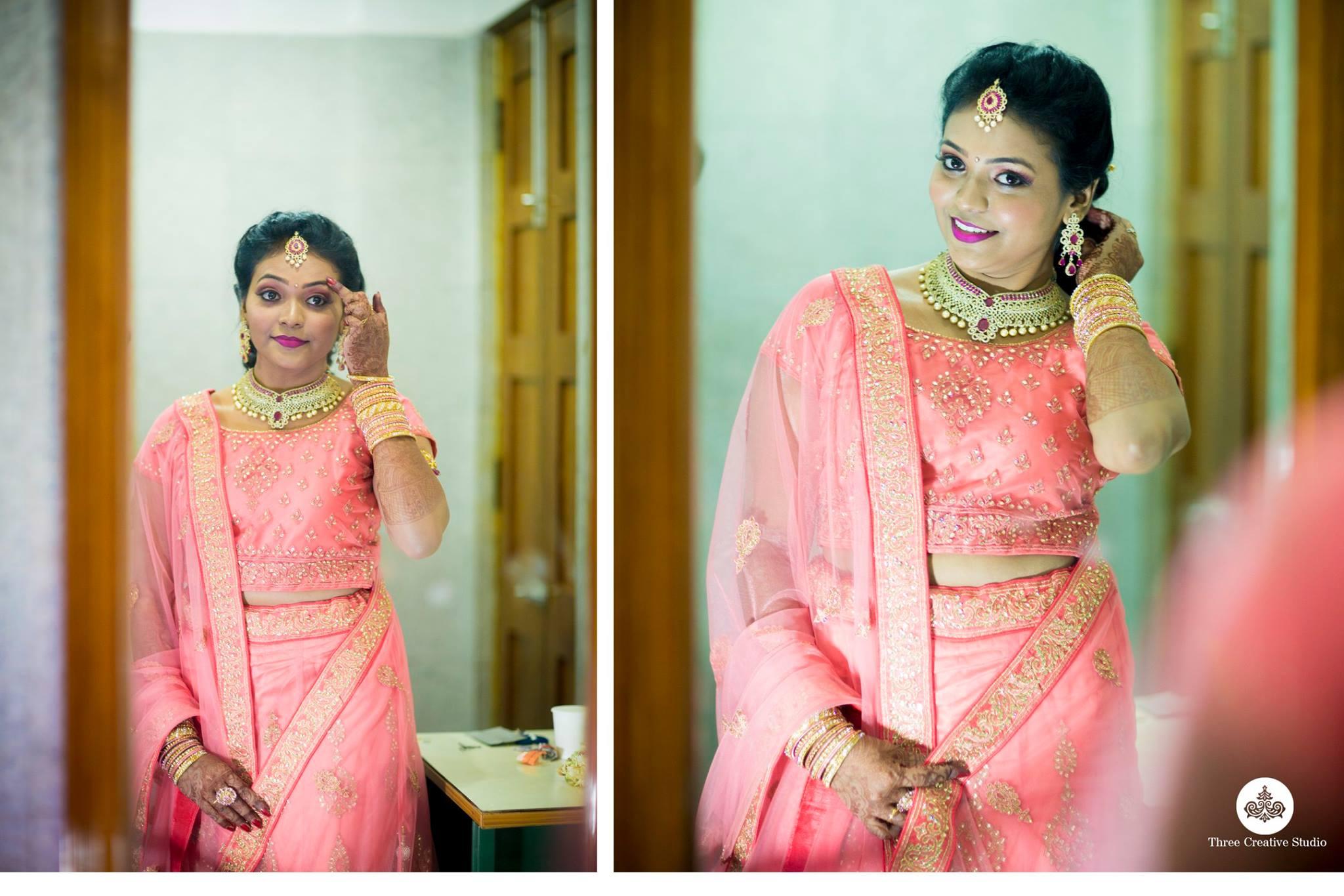 Pink Designer Lehnga