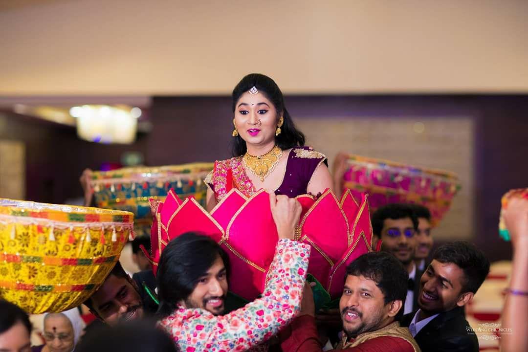 Bride in Lotus