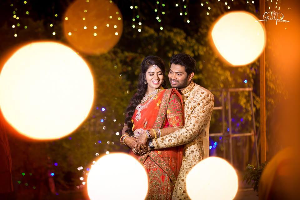 Glowing Couple