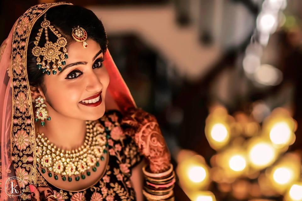 Prettiest bridal smile