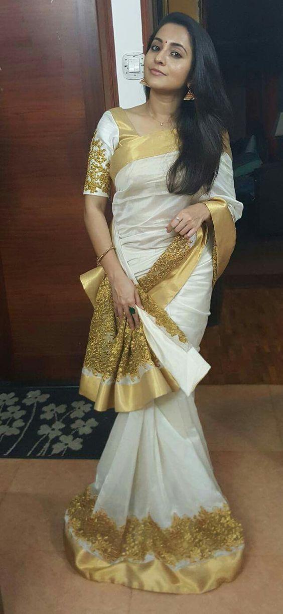 Kerala Designer saree