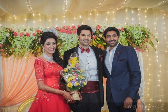 Ganesh Venkatraman Wedding Reception Photos-3