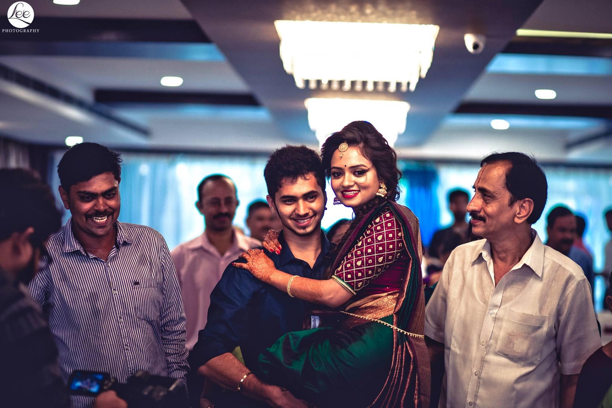 Deepak Sridhar with Megha Parthasarathy-9