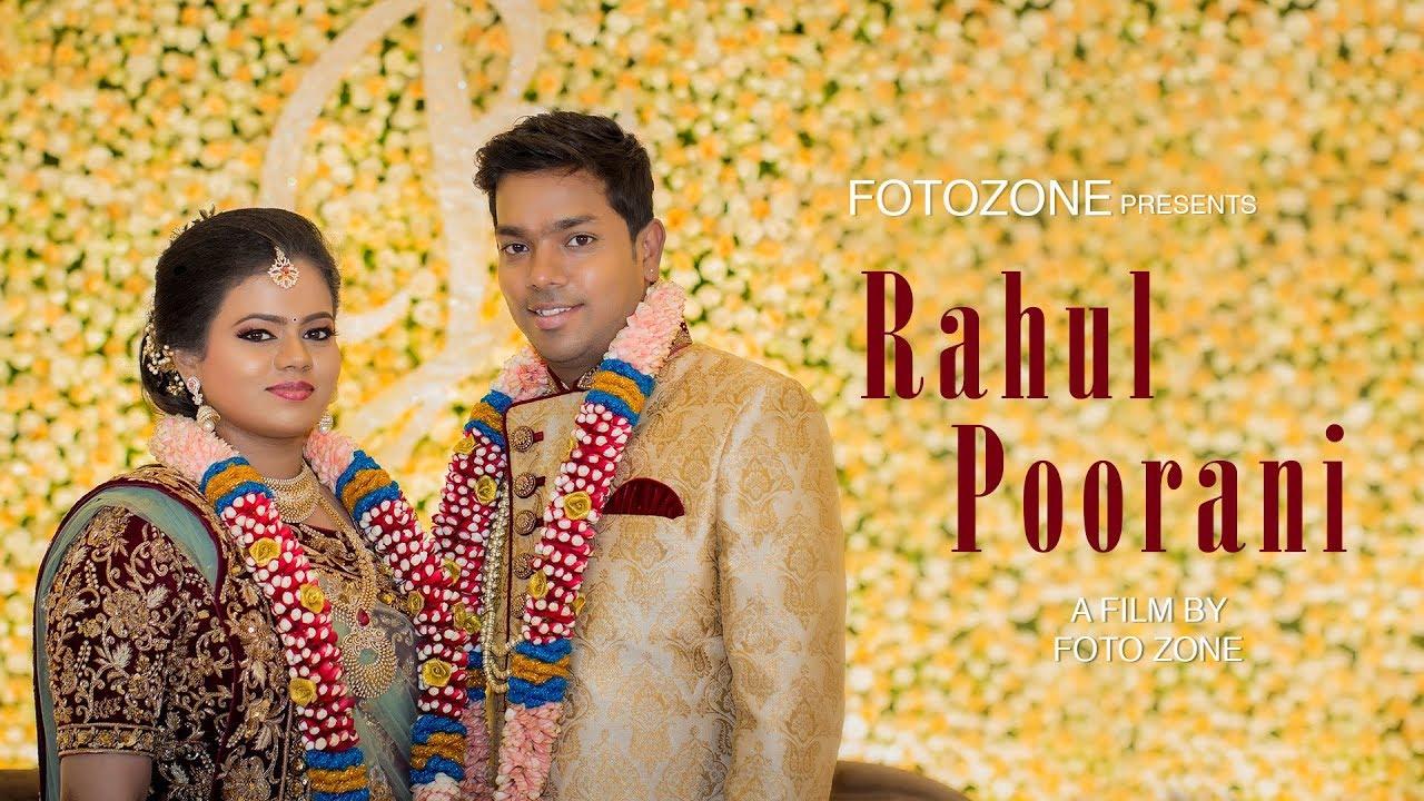 Reception Highlights Rahul + Poorani at Pudukkottai