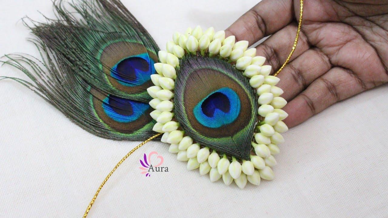 Peacock feather Jadai Billai