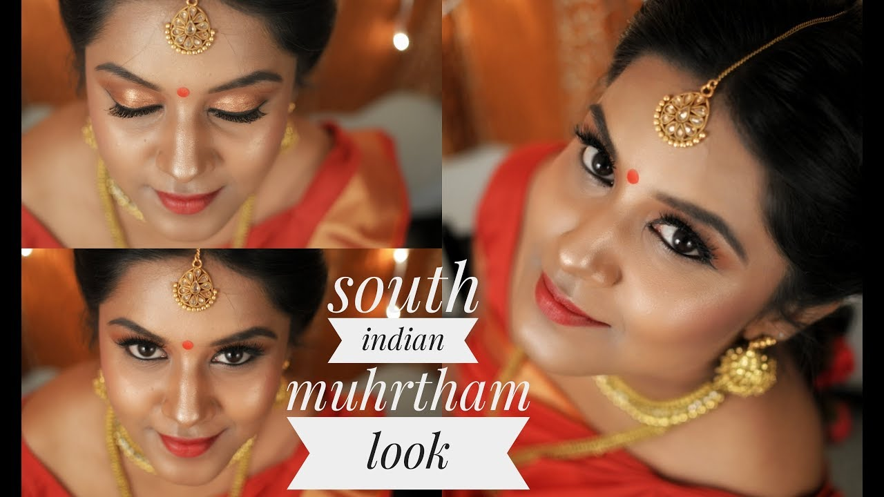 South Indian Bridal Makeup || Tamil bride || muhurtham makeup