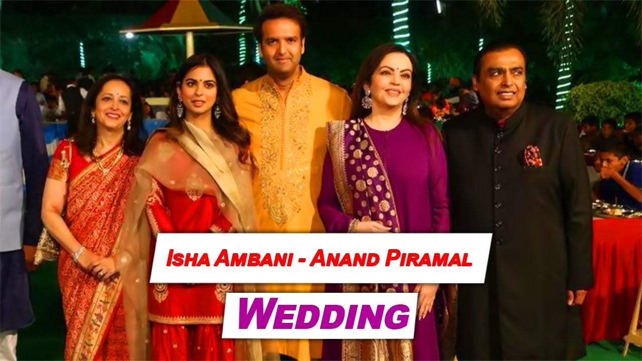 Ambani Wedding Video | Isha Ambani-Anand Piramal wedding Video | TBG Bridal Store