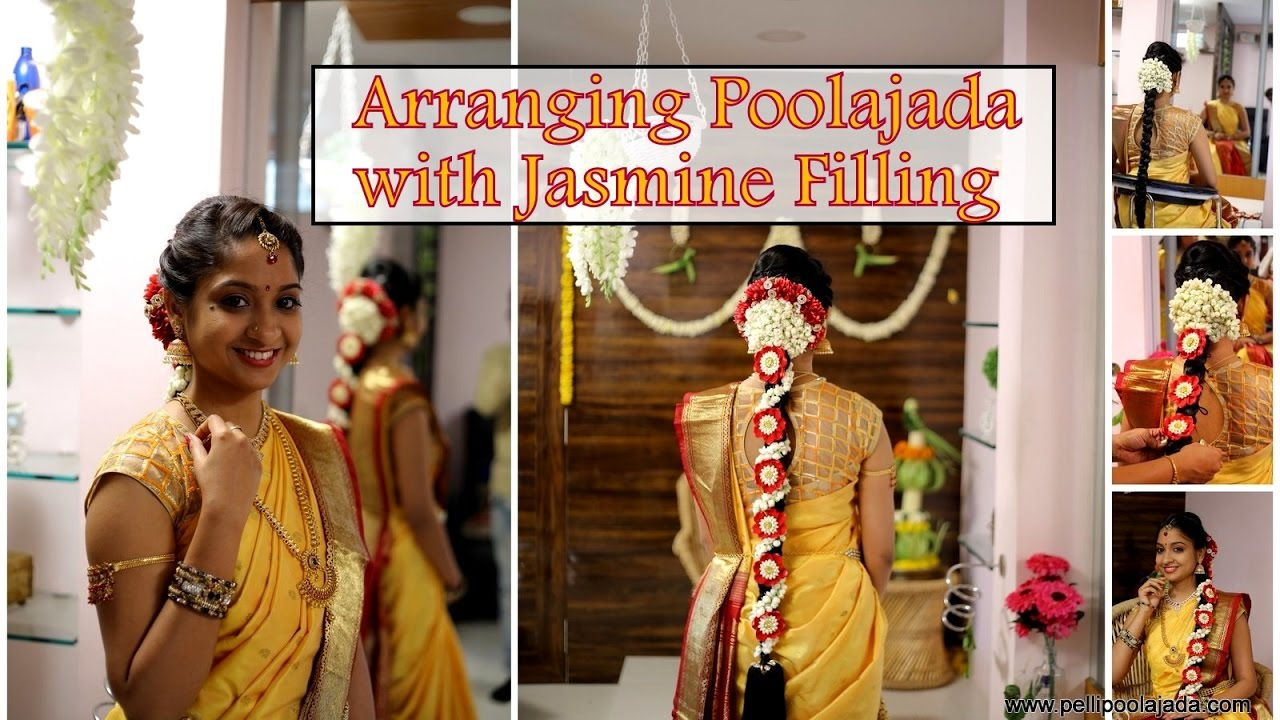 How to Arrange Poolajada with Jasmine Filling