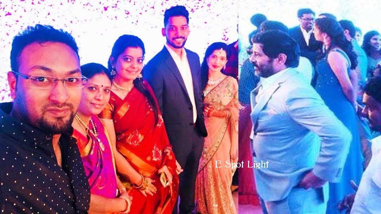 Vikram's Daughter Akshita Wedding Reception
