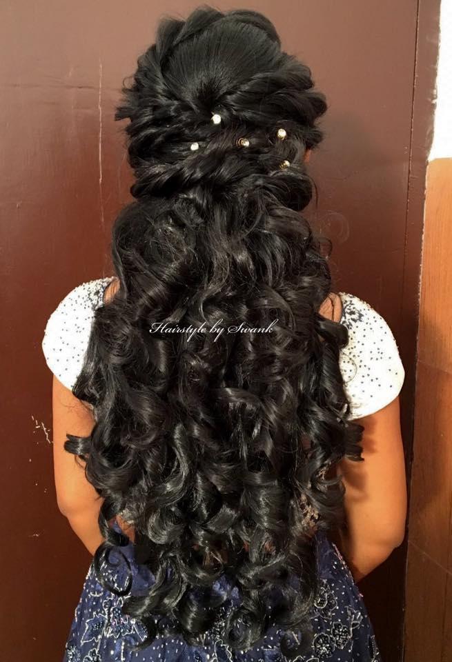 Perfect bridal curls