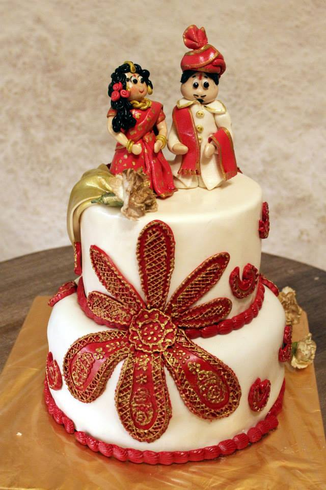 Two Tier Couple Cake