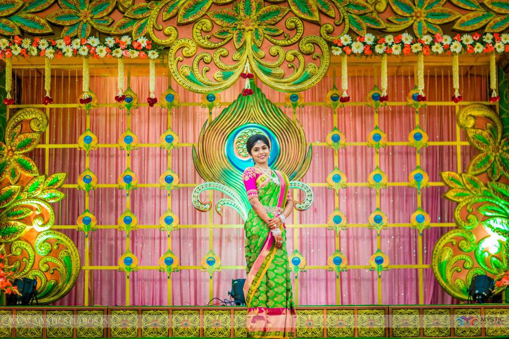 Peacock inspiration Backdrop