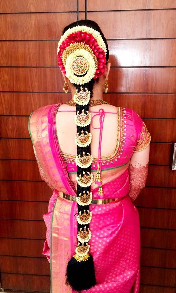 Bridal Poo Jadai Hair Style Poo Jadai Hair Style Photo Gallery