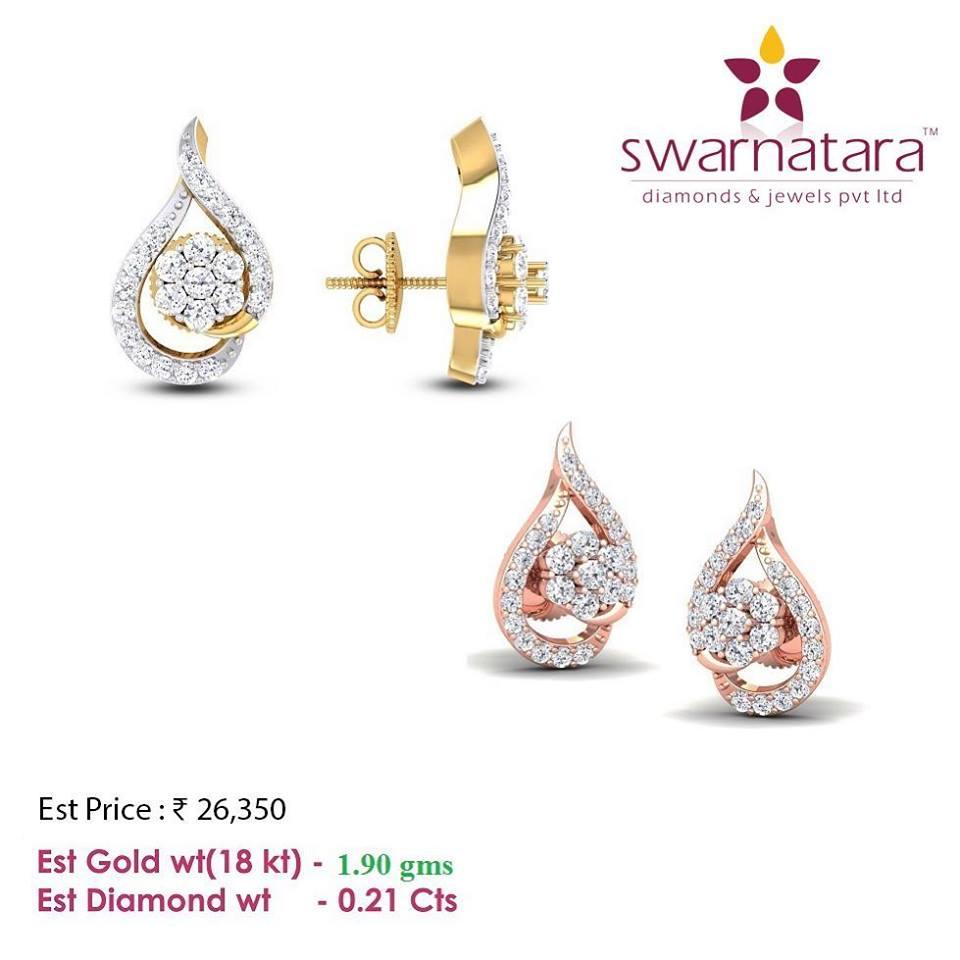 Cute diamond Earring