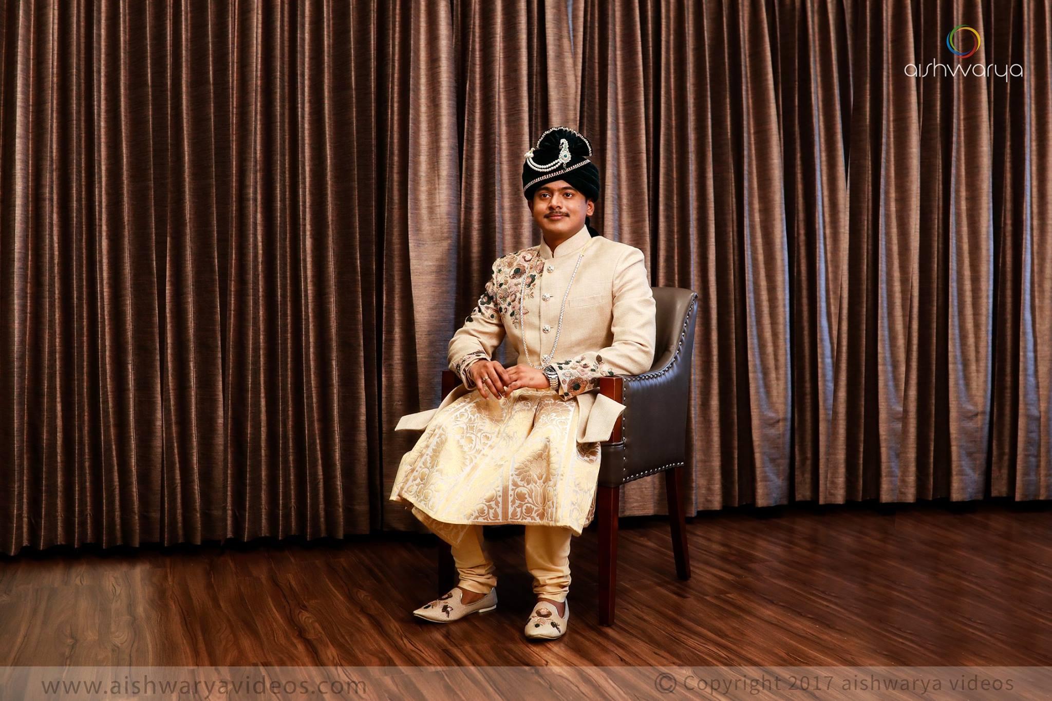 Groom's Raja Outfit