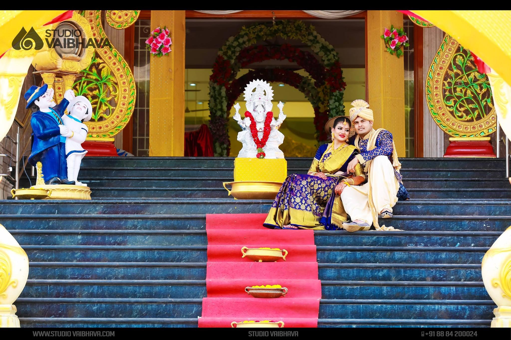 Royal Blue Couple
