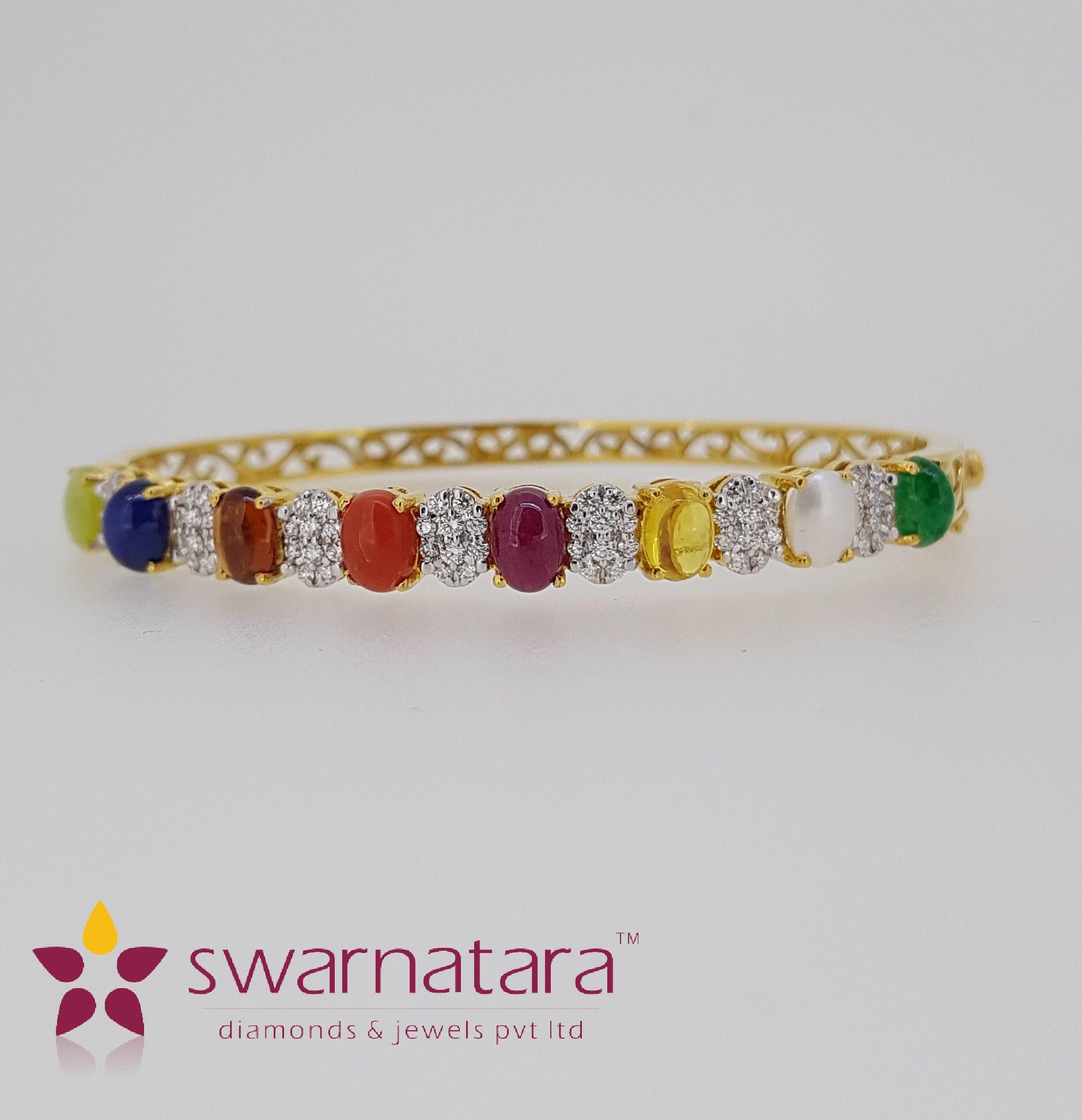Swarnatara's Navarathna Bracelet