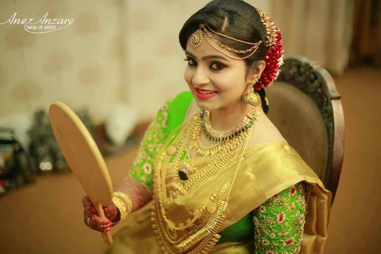 Bridal Makeup for Kerala bride