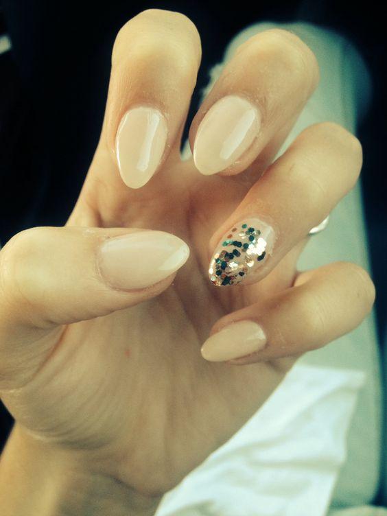 Glittering Nail Art