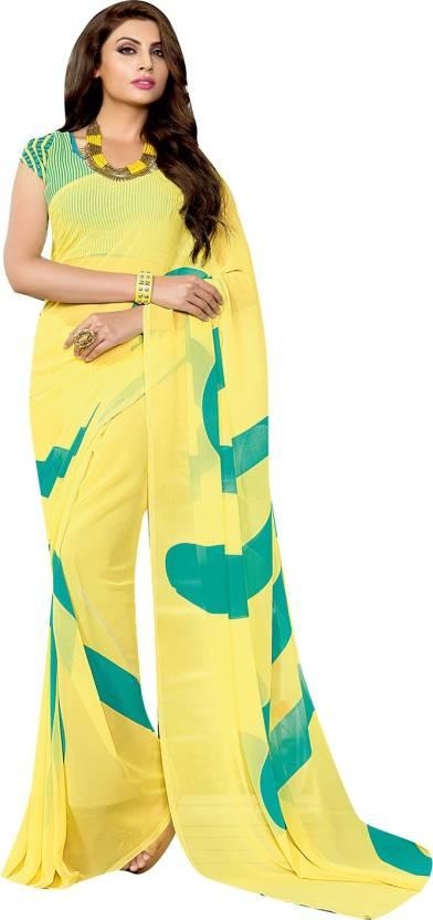Self Design Fashion Georgette Saree
