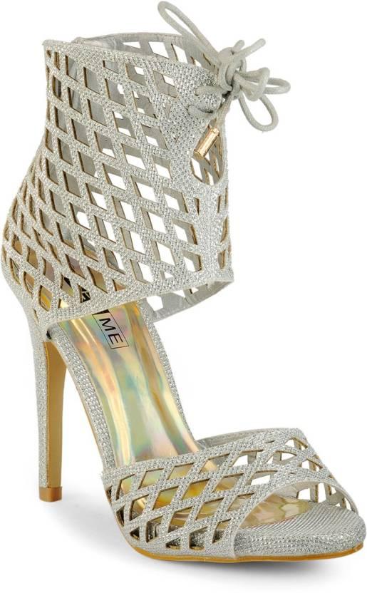 Yepme Women Grey Heels