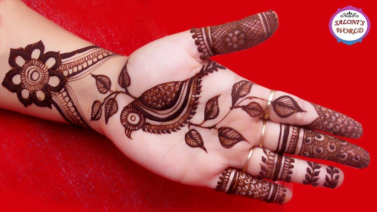 Latest Mehndi Designs by Jyoti Sachdeva.