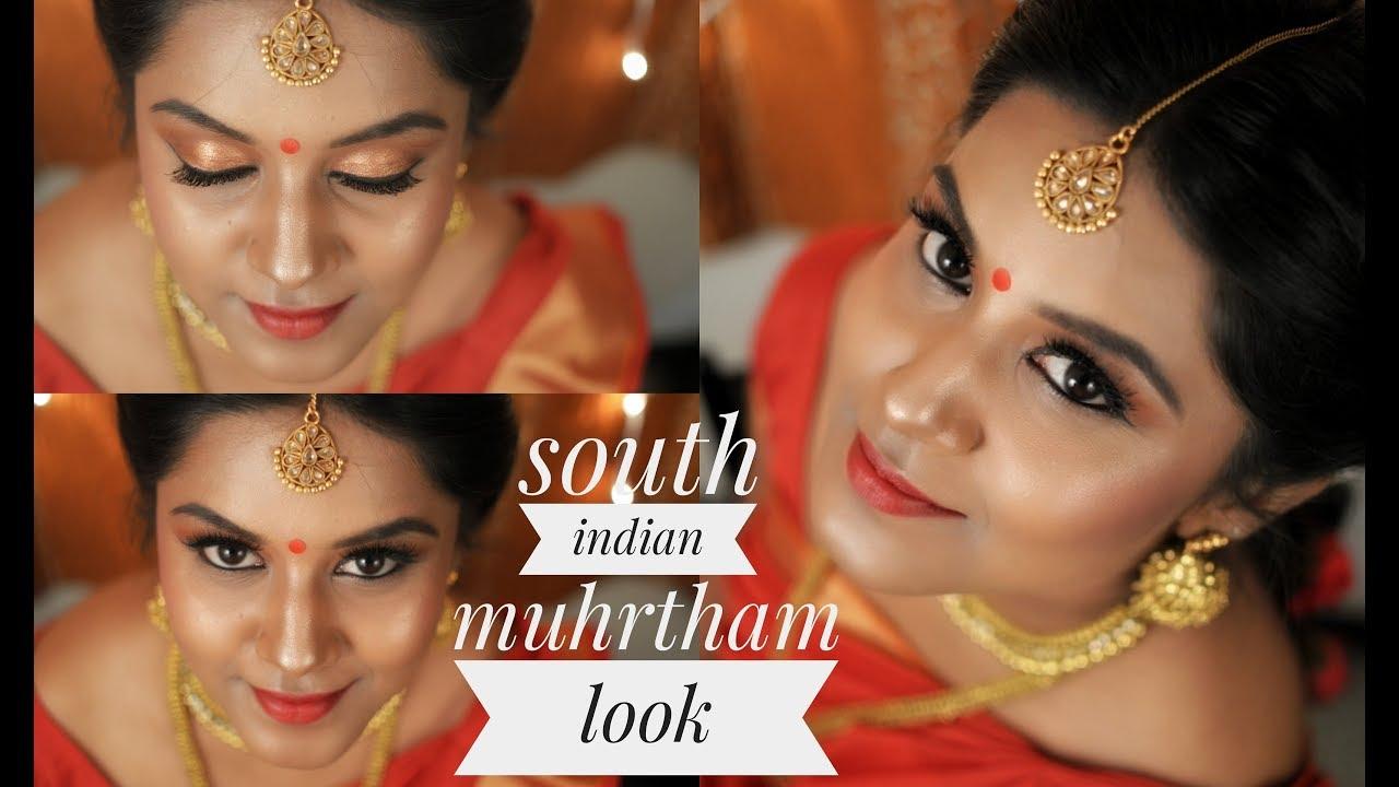 South Indian Bridal Makeup || Tamil bride || muhurtham makeup