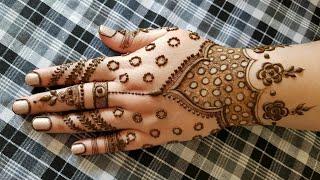 Khaleeji henna design #35