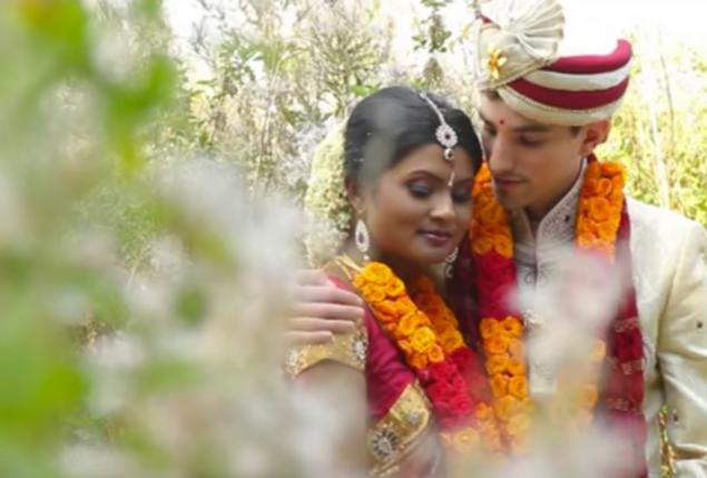 Cinematic Tamil American wedding